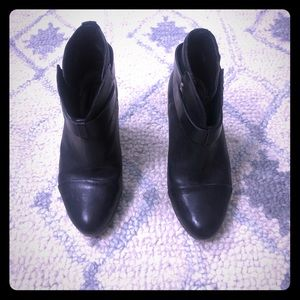 Rag & Bone Harlow Black Booties
